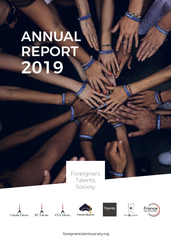 Annual Report 2019 - Foreigners Talents Society