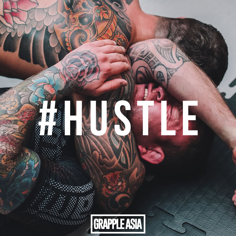 Hustle: Striving daily, to become better versions of ourselves, personal growth through overcoming challenges
