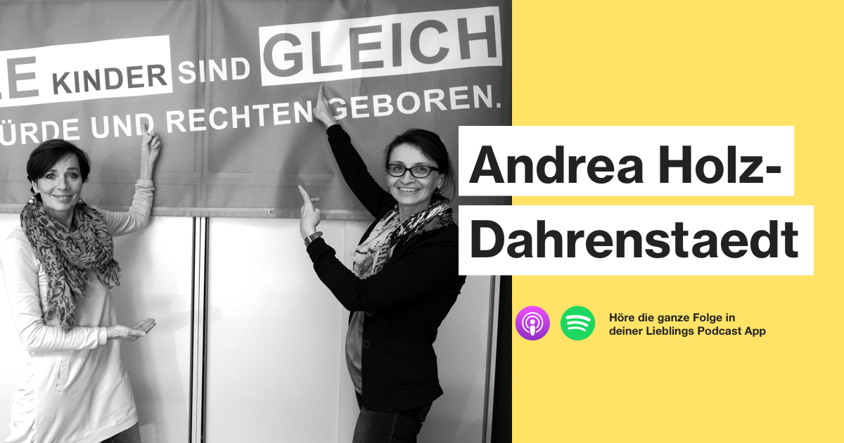 """Andrea Holz-Dahrenstaedt - """"Das ist eine existentielle"""