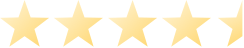 Stars rating with 4.5 out of 5 stars filled in