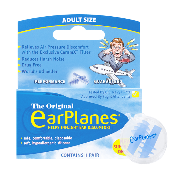 Front of EarPlanes packaging
