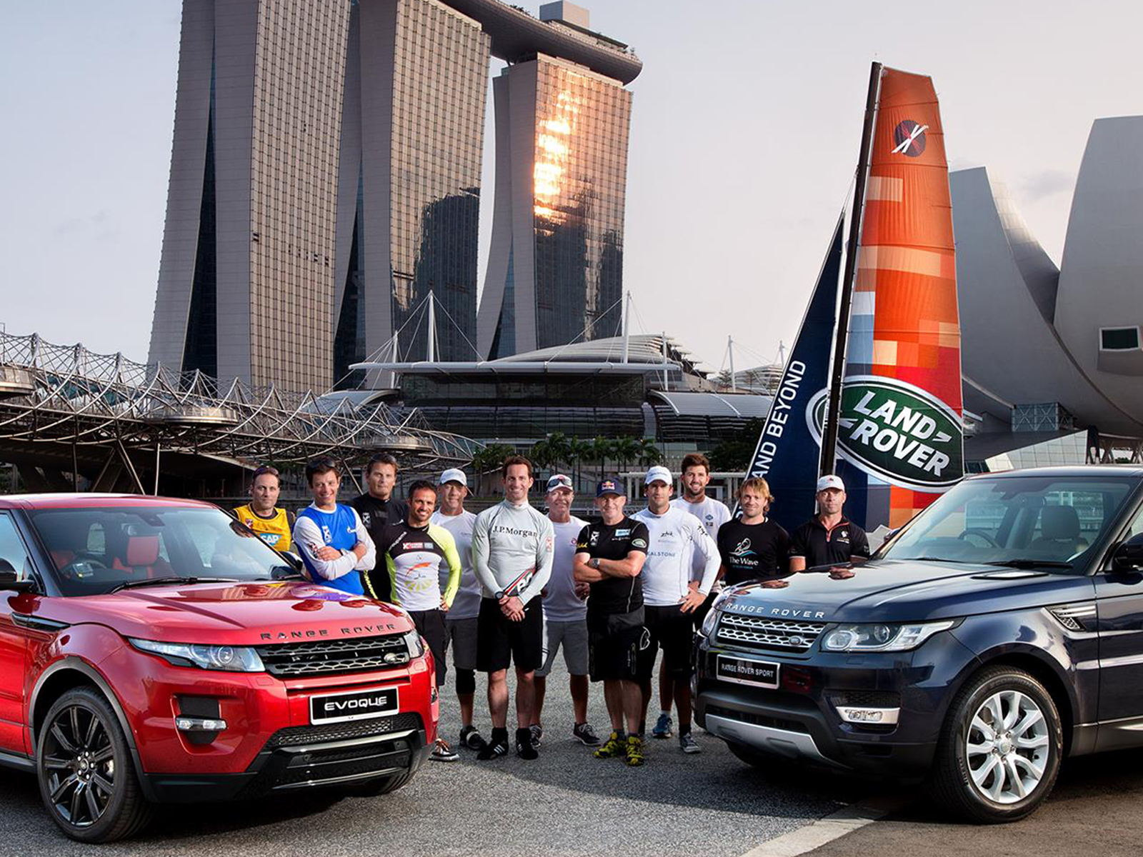Extreme Sailing Series Land Rover Case Study