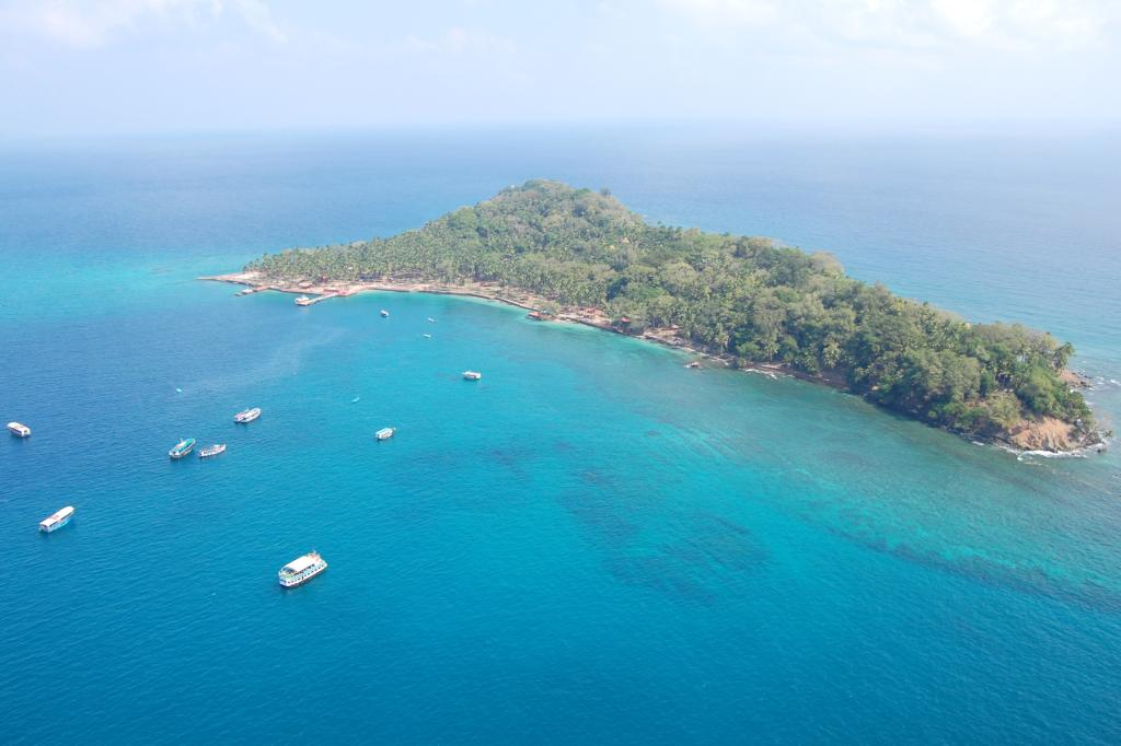 Ross Island in Andaman