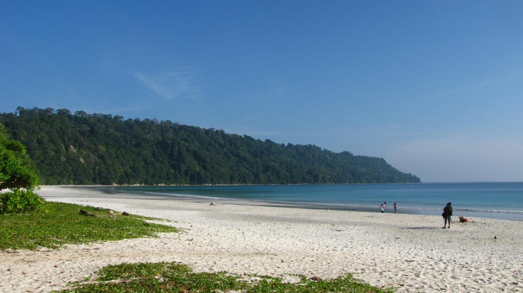 Shore of Radhanagar Beach in Havelock Island