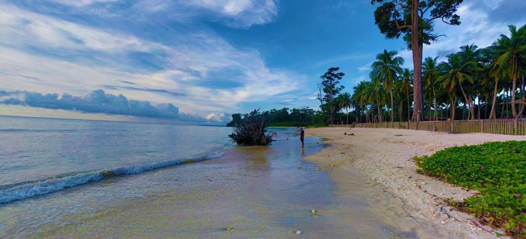 Wandoor Beach in Port Blair