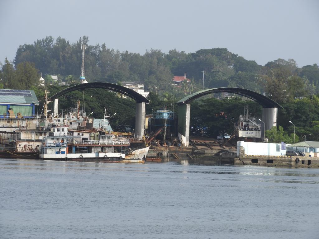 Andaman Island Port
