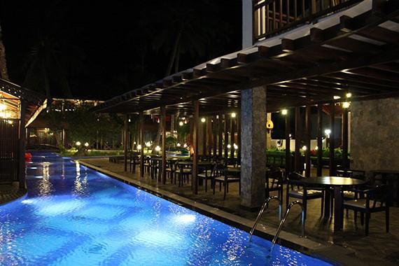 Open Restaurant in Summer Sand Beach Resort