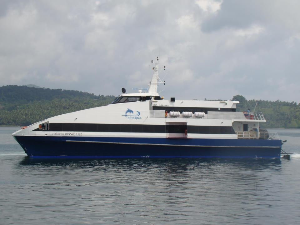 Makruzz Ferry in Andaman