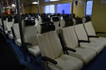 Green Ocean Ferry Seating Cabin