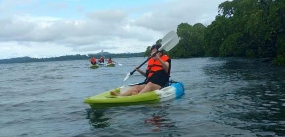 Kayaking in Neil Island