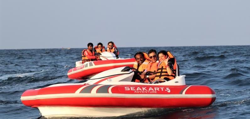 Sea Kart in Andaman Islands