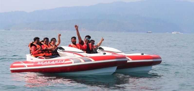 Sea Kart at Corbyn's Cove