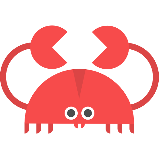 Beach Crab Icon