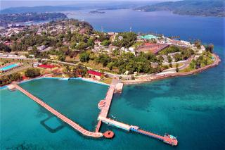Aerial View of Port Blair