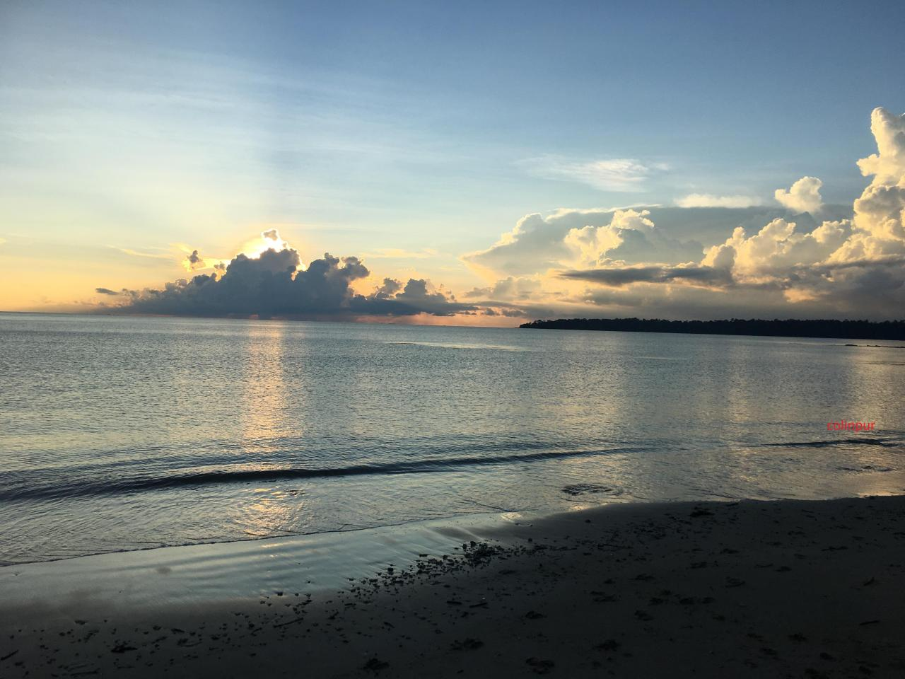 Red skin island beach, Andaman Islands