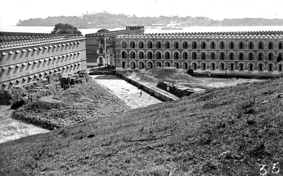Cellular Jail in Construction in year 1940