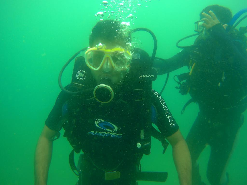 Scuba Diving During Rain in Andaman
