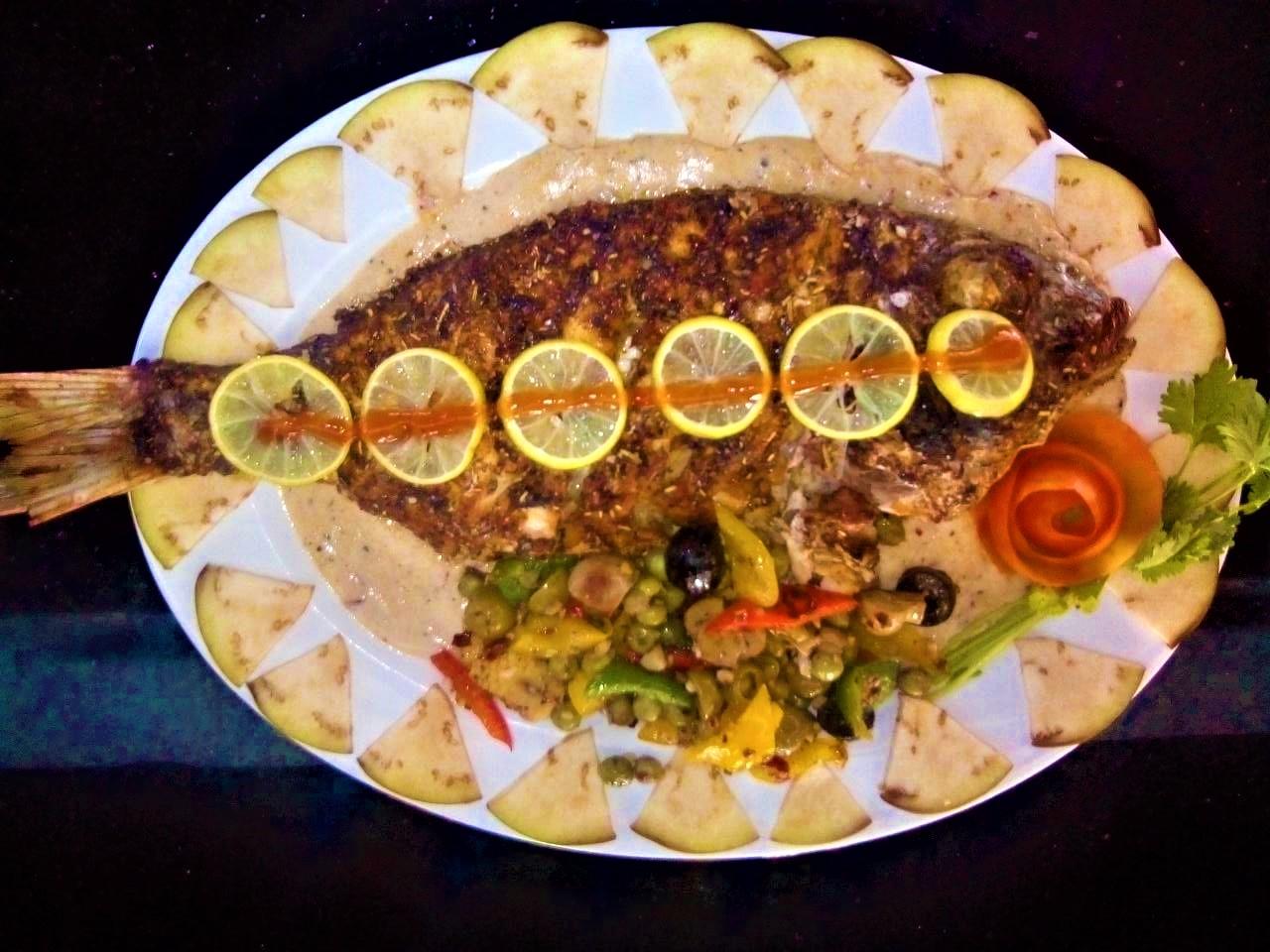 Whole Fish Dish in Bella Bay