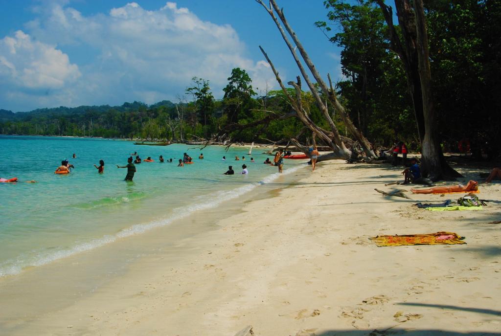 Elephant Beach in Havelock Island