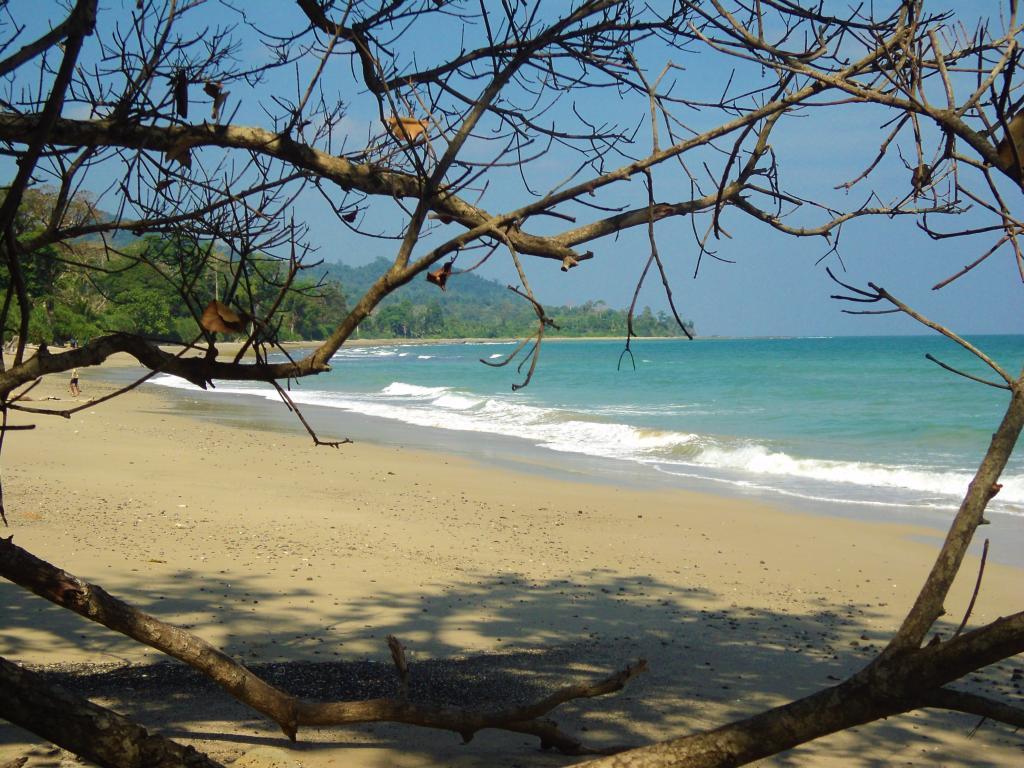 Amkunj Bay Beach in Rangat