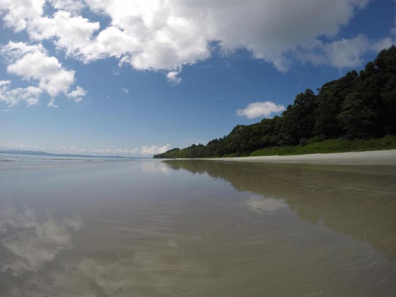 Far View of North Bay, Near Wandoor Beach, Port Blair