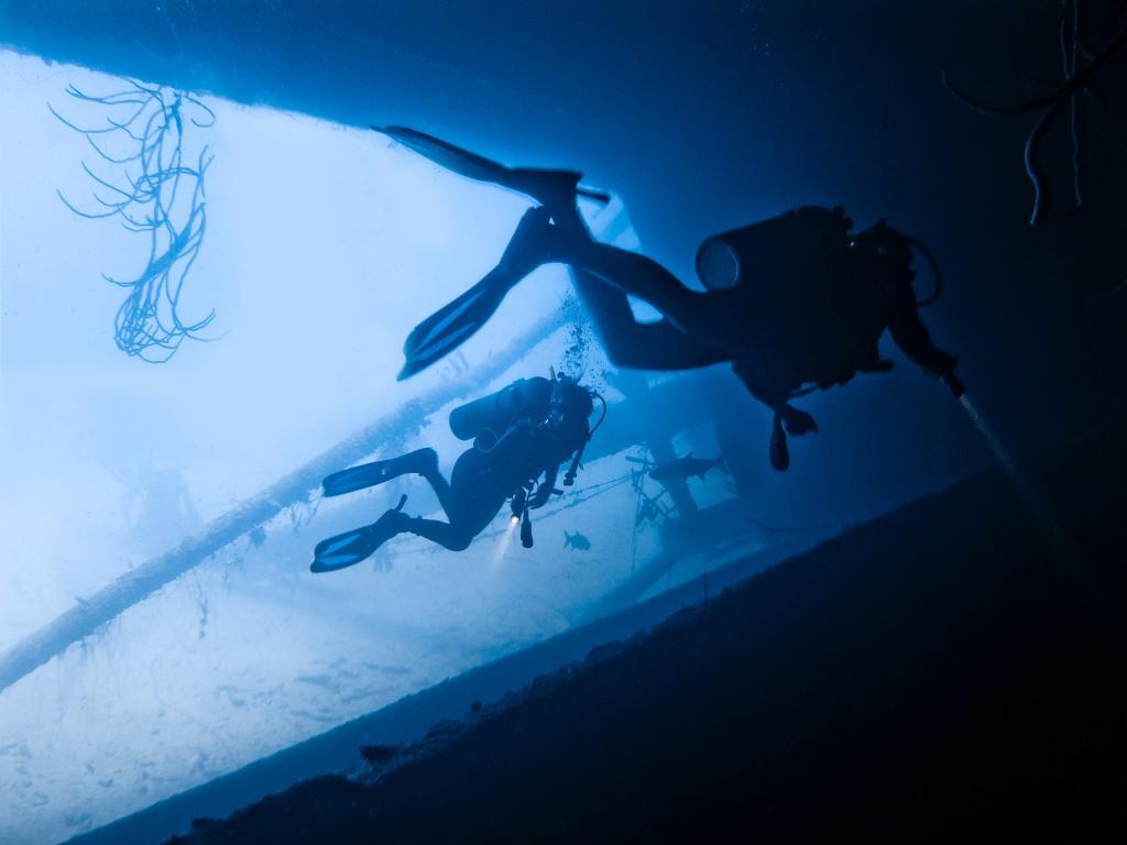 Scuba Diving near Port Blair in Andaman Islands