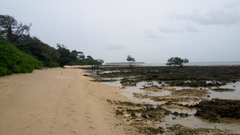 Ramnagar Beach in Neil Island