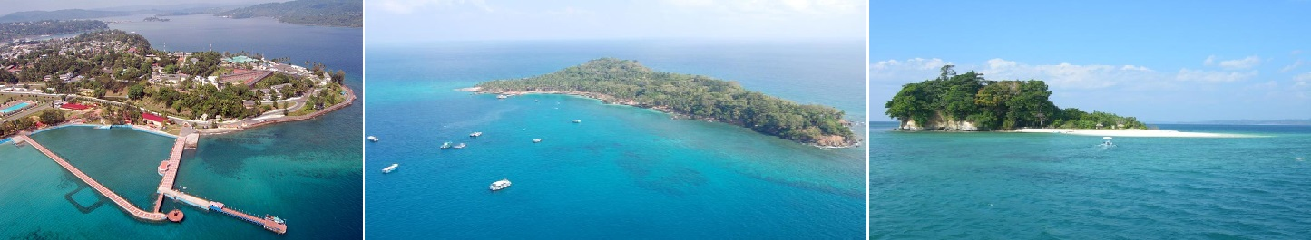 Real images of Andaman Islands