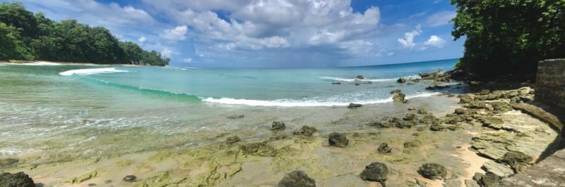 Sitapur Beach Shoreline