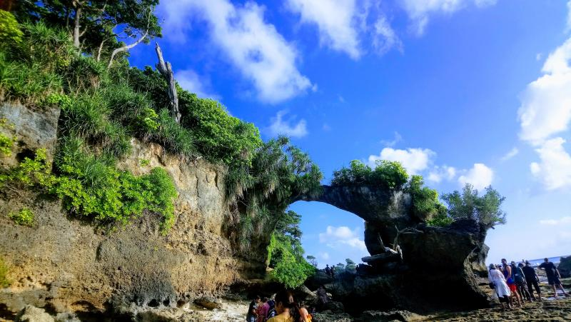 Natural Bridge in Neil Island