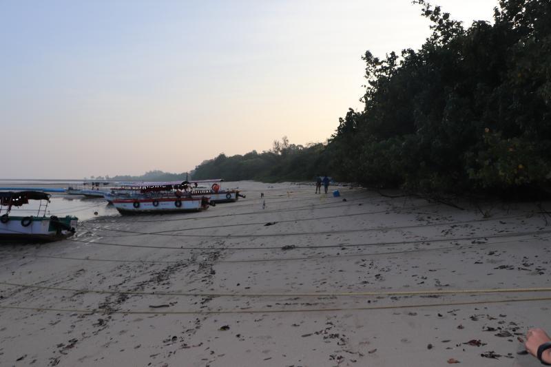 Bharatpur Beach landscape