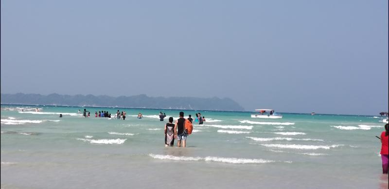 water sports at Bharatpur Beach