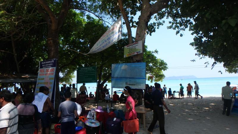 Food Stalls in Bharatpur Beach