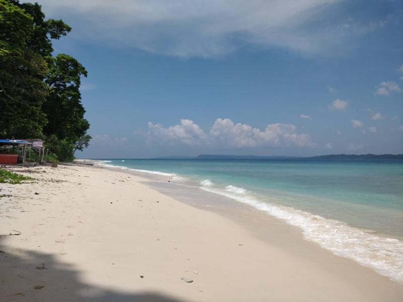 Laxmanpur beach Right side