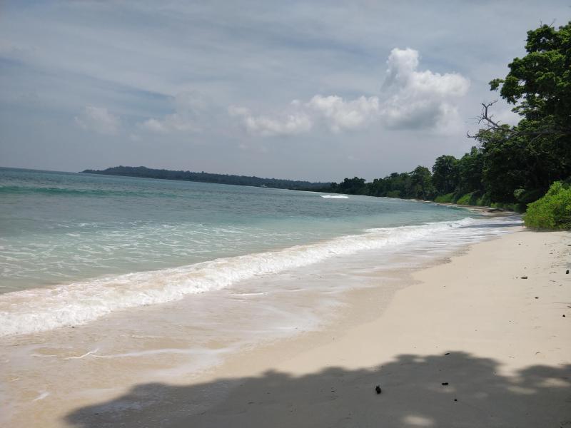 Laxmanpur beach shore
