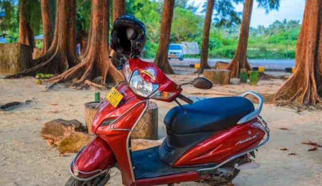 Getting around on a bike in Port Blair