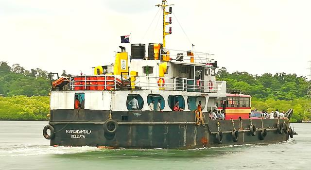 Vehicle Ferry to go from Baratang from Port Blair