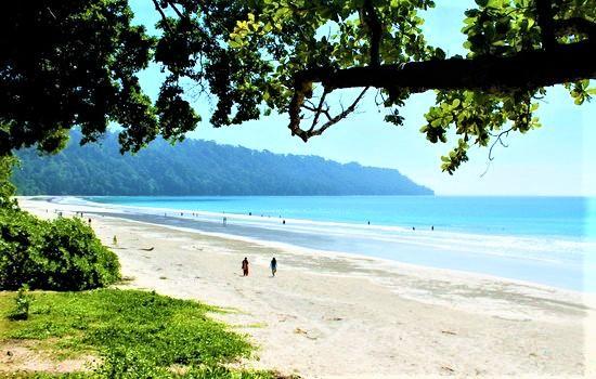 Radhangar Beach Shoreline