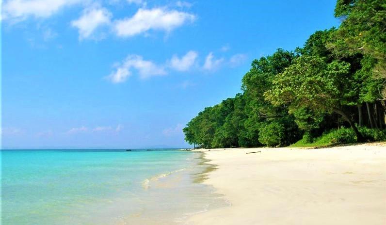 Radhanagar Beach in Havelock Island