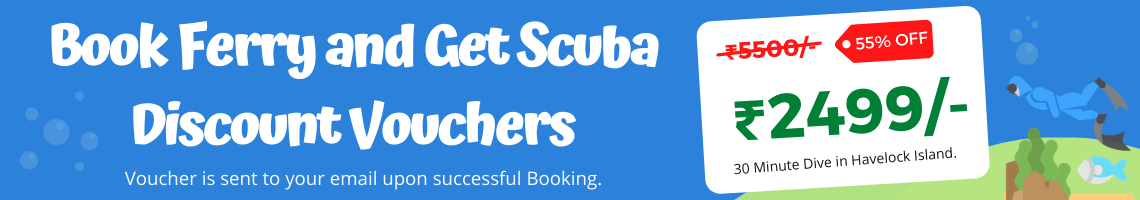 Scuba Diving offer for Ferry Booking