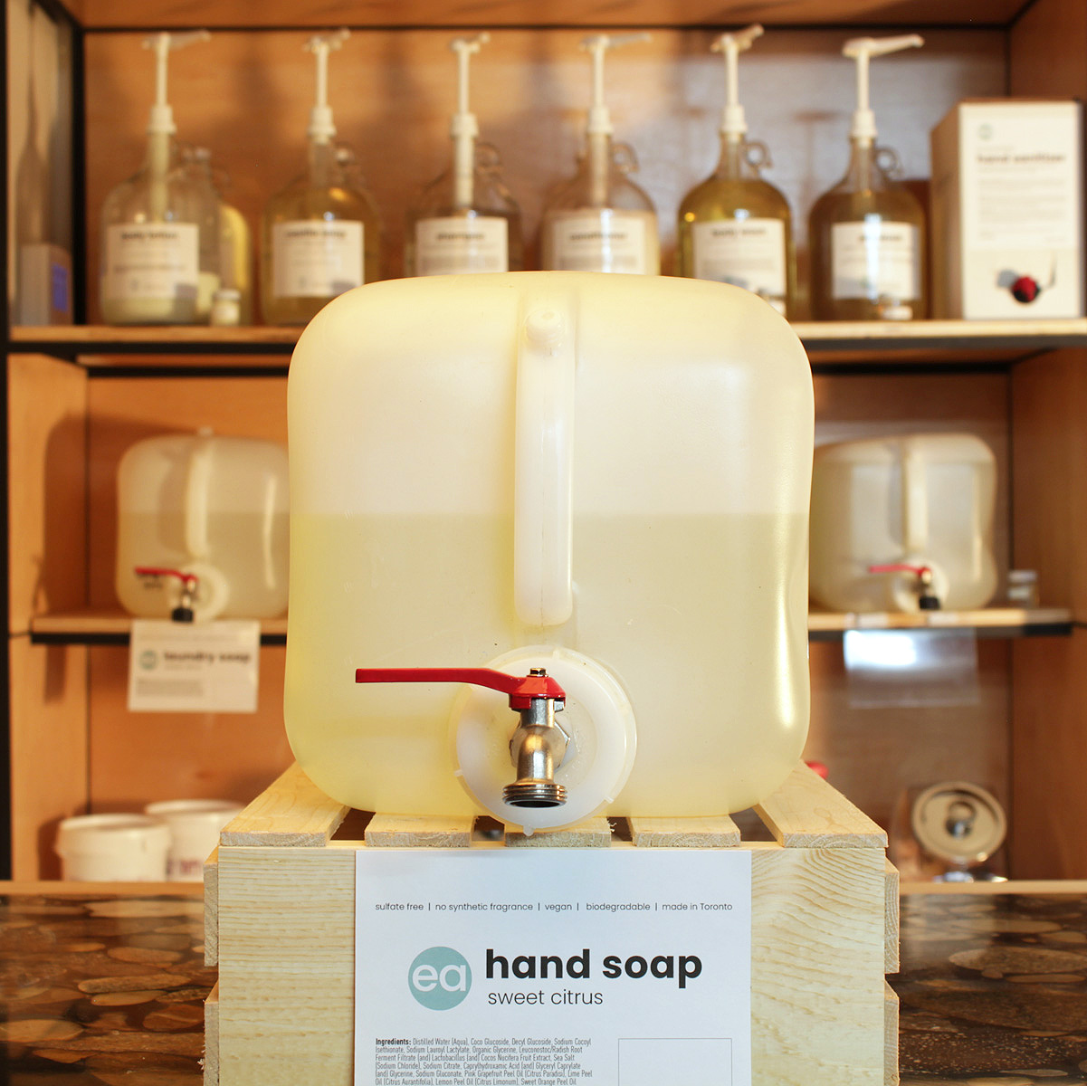 refill liquid hand soap - Toronto - Pollocks Home Hardware - eco + amour