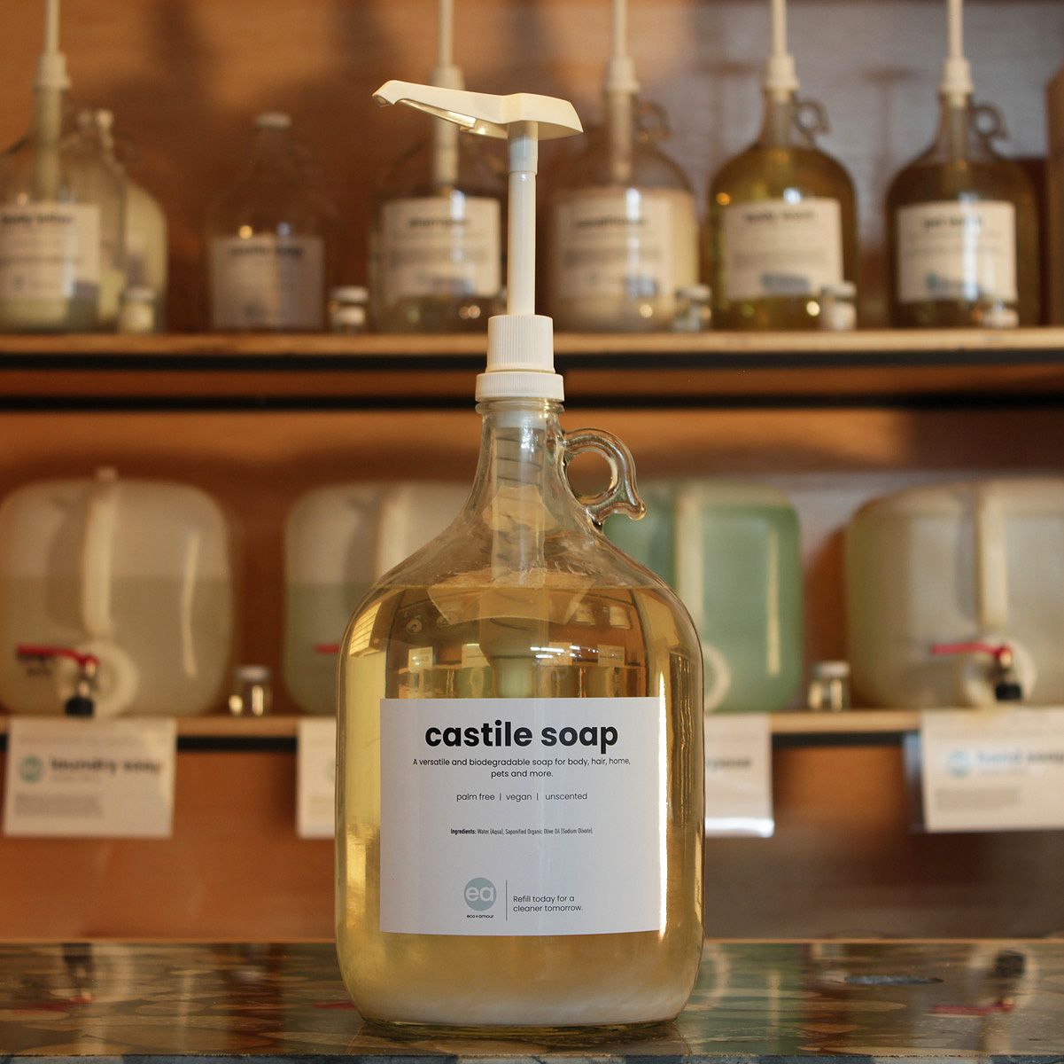 refill castile soap - Toronto - Pollocks Home Hardware - eco + amour