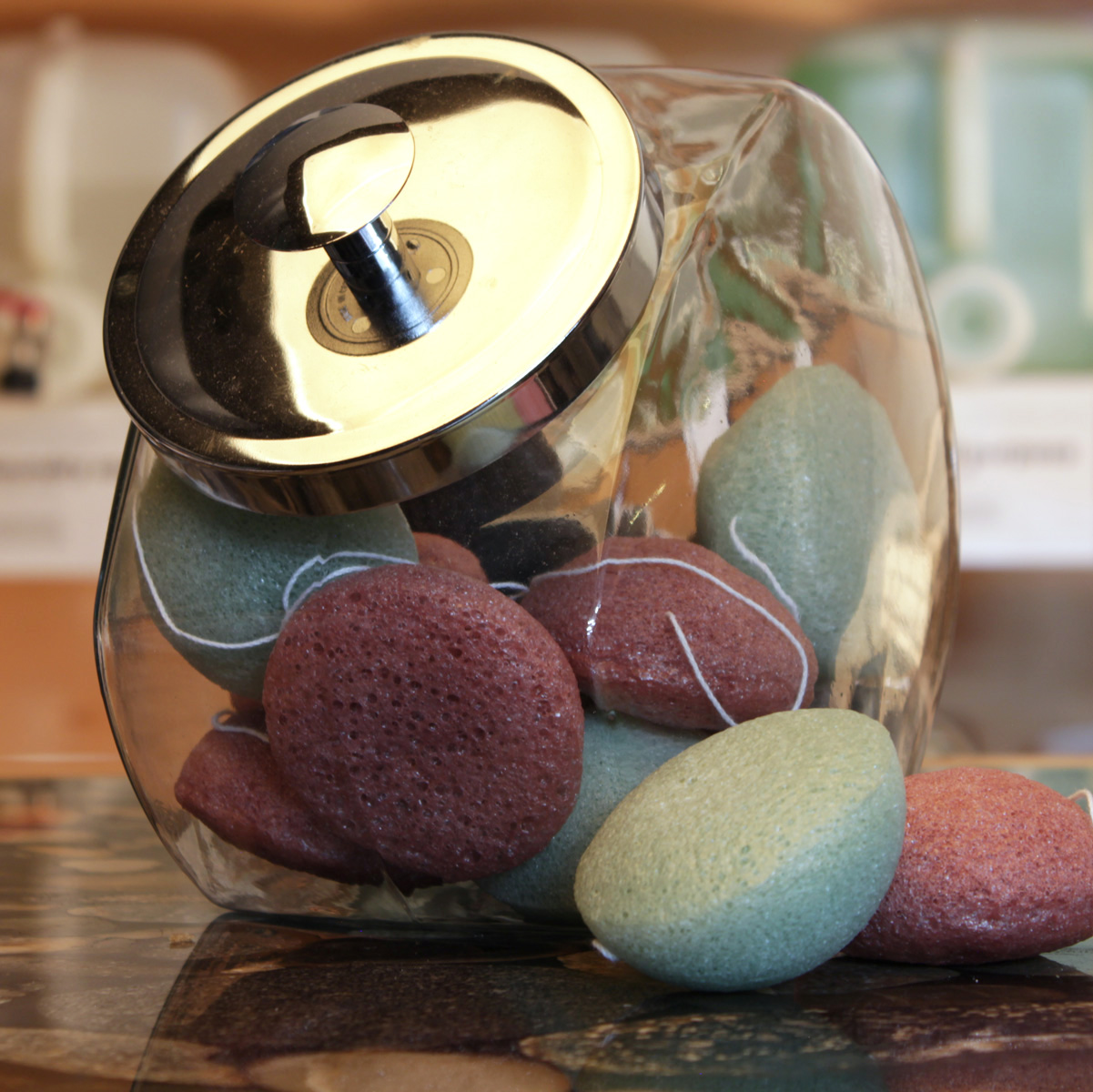 Konjac Face Sponge - eco + amour - Toronto - Pollocks Home Hardware