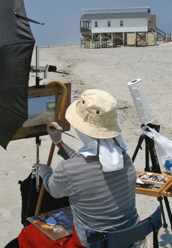 Painting Ocean Isle Image
