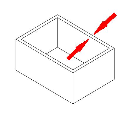 FDM 3D printen ondersteunde wand