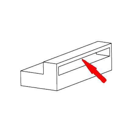 FDM 3D printen overbruggend deel
