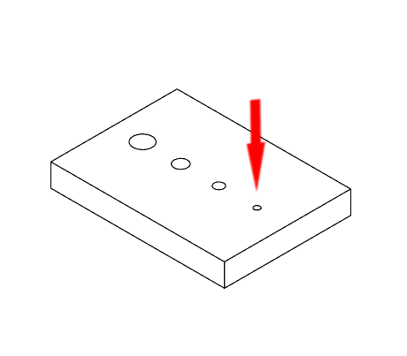 FDM 3D printen kleine gaten