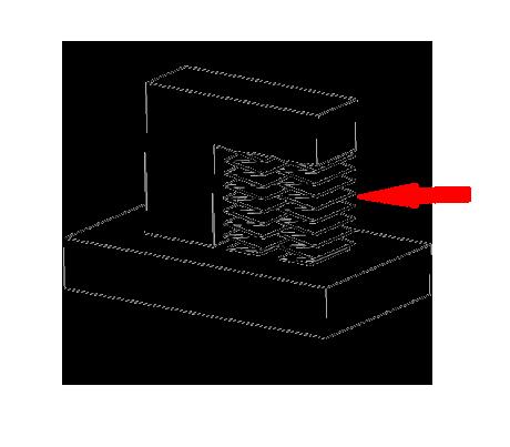 FDM 3D printen met support materiaal