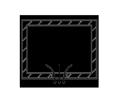 SLA 3D printen ontsnappings gaten
