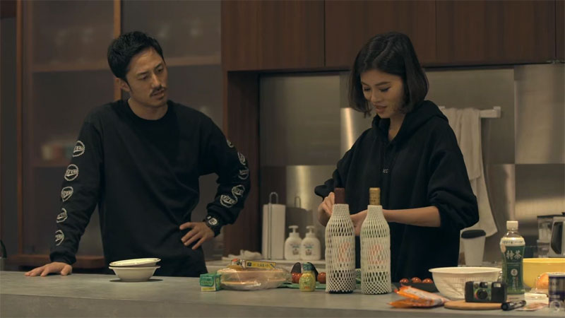 Seina and Taka from Terrace House